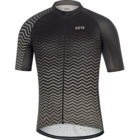 GORE WEAR C3 Fietsshirt korte mouwen Heren grijs/zwart